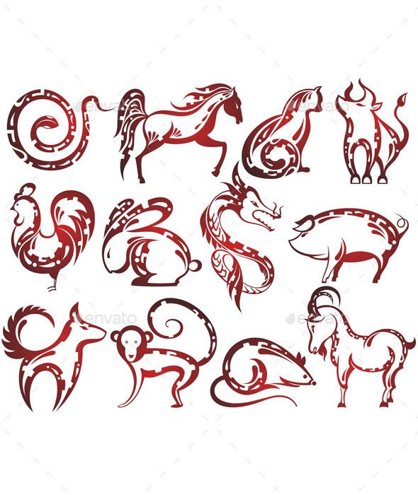 Chinese Zodiac Signs - New Year Seasons/Holidays