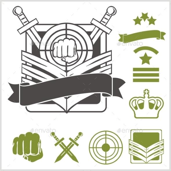 Special Unit Military Patches - Decorative Symbols Decorative