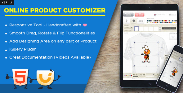 Online Product Customizer - CodeCanyon Item for Sale