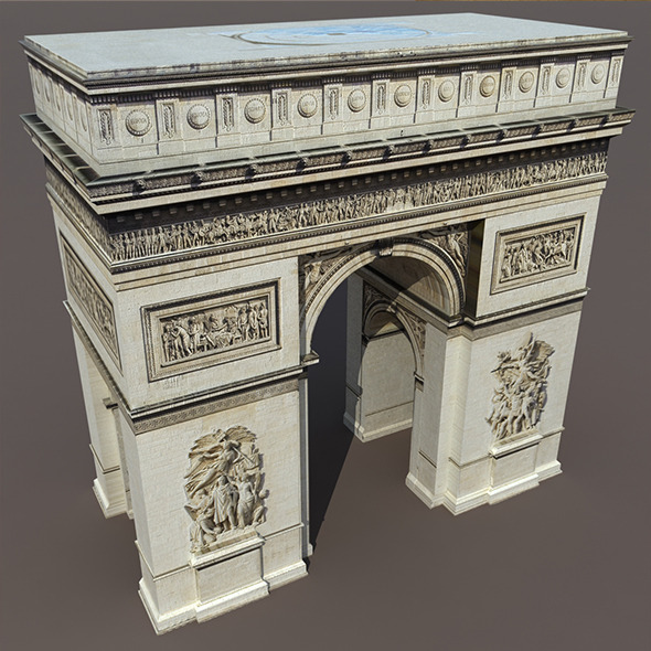 Arc de Triomphe - 3DOcean Item for Sale