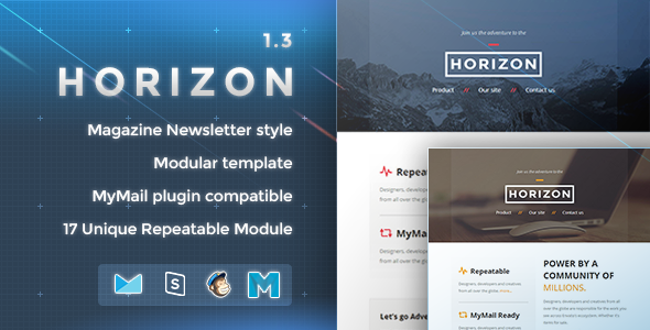 Horizon – Responsive Email Template