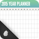 2015 Calendar Collection - Year Planner - GraphicRiver Item for Sale