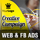 Business Marketing Web & Facebook Banners - GraphicRiver Item for Sale
