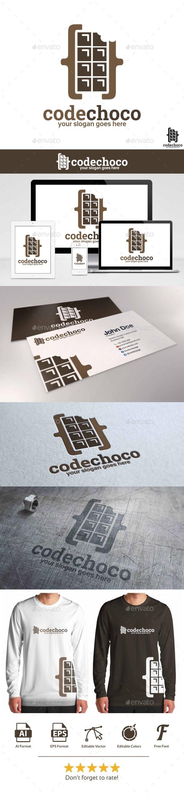 Code Choco Logo - Objects Logo Templates