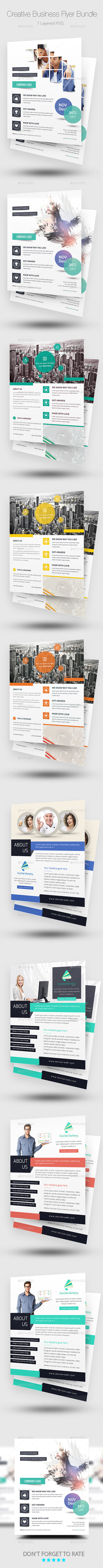 Creative Business Flyer Bundle - Corporate Flyers