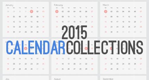 2015 Calendar Collection