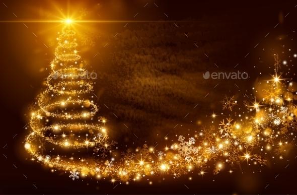 Christmas Magic Tree - Christmas Seasons/Holidays