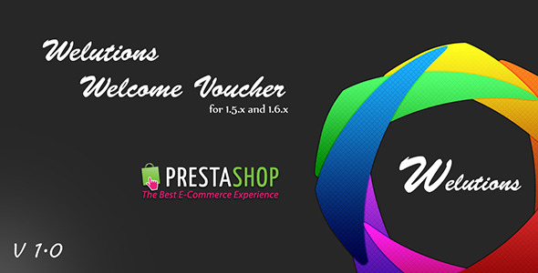 Welutions Welcome Voucher for PrestaShop - CodeCanyon Item for Sale