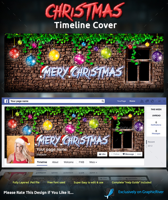Christmas Timeline Cover - Facebook Timeline Covers Social Media