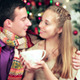 Young Beautiful Couple In Sweaters And Scarves - VideoHive Item for Sale