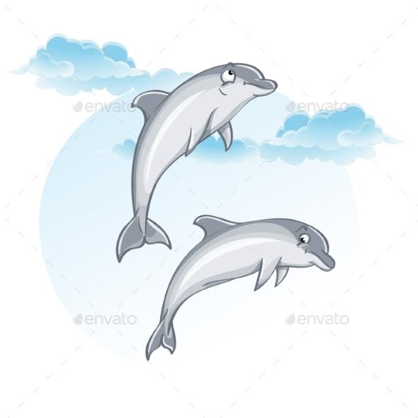 Dolphins - Landscapes Nature