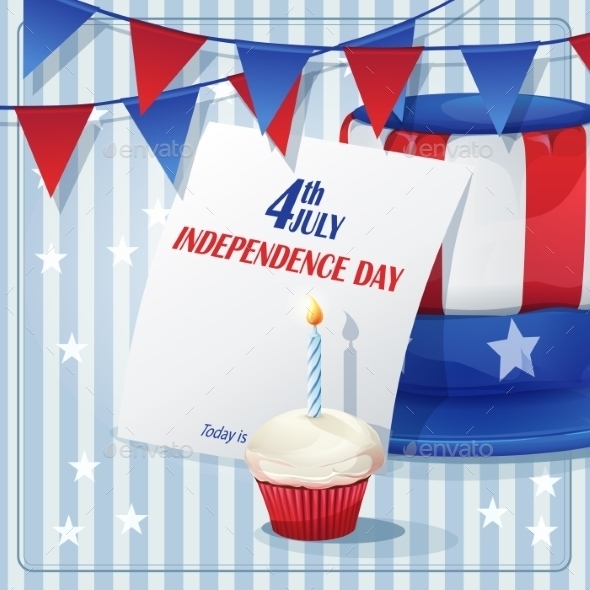 Independence Day Background - Birthdays Seasons/Holidays