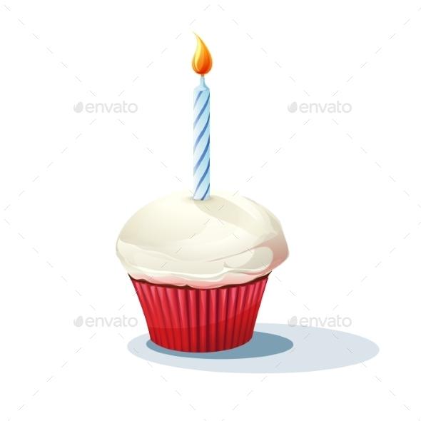 Cupcake - Birthdays Seasons/Holidays