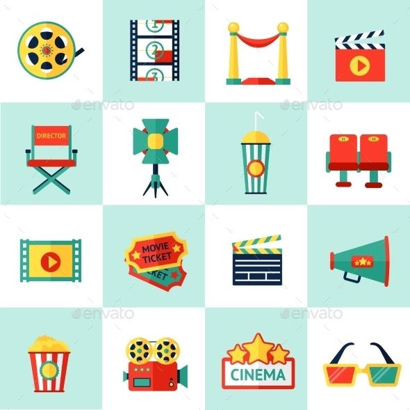Cinema Icon Set - Miscellaneous Icons