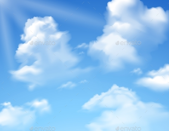 Sky with Clouds - Nature Conceptual