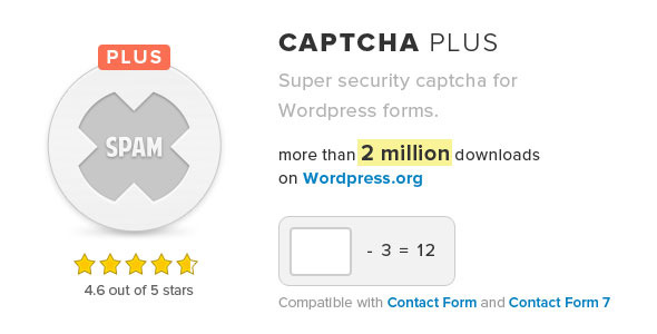 Captcha Plus - CodeCanyon Item for Sale