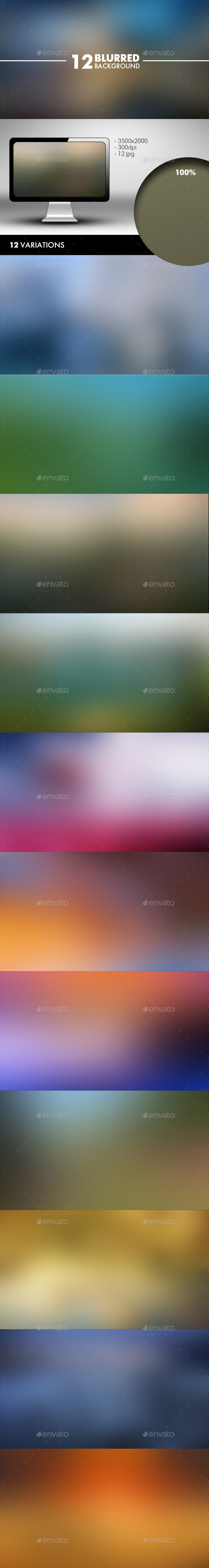 Blurred Background - Abstract Backgrounds