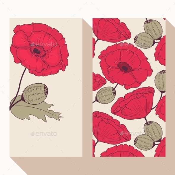 Poppy Banners - Flowers & Plants Nature