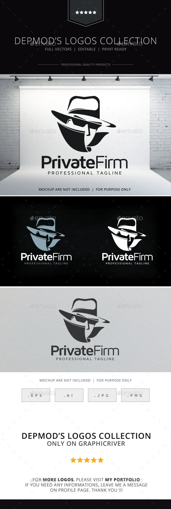 Private Firm Logo - Humans Logo Templates