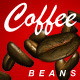 Coffee Bean for Particle Systems 3Ds max