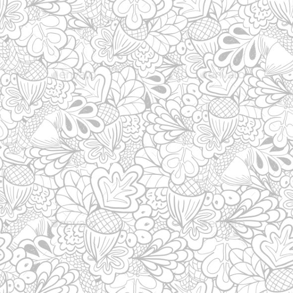 Oak Pattern - Patterns Decorative