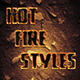 Hot Fire Styles - GraphicRiver Item for Sale