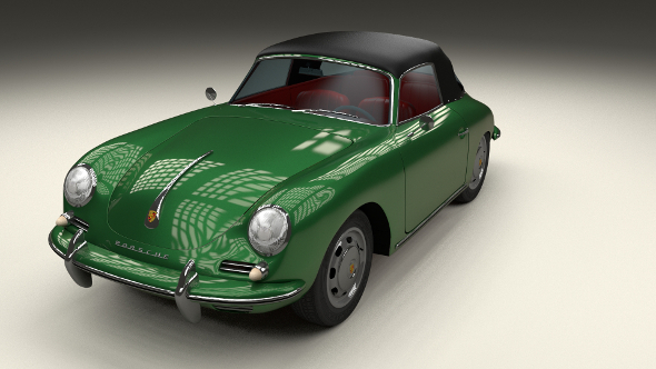 Porsche 356 Cabriolet - 3DOcean Item for Sale