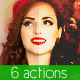 6 Christmas Actions - GraphicRiver Item for Sale