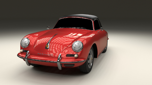 Porsche 356 Cabrio - 3DOcean Item for Sale