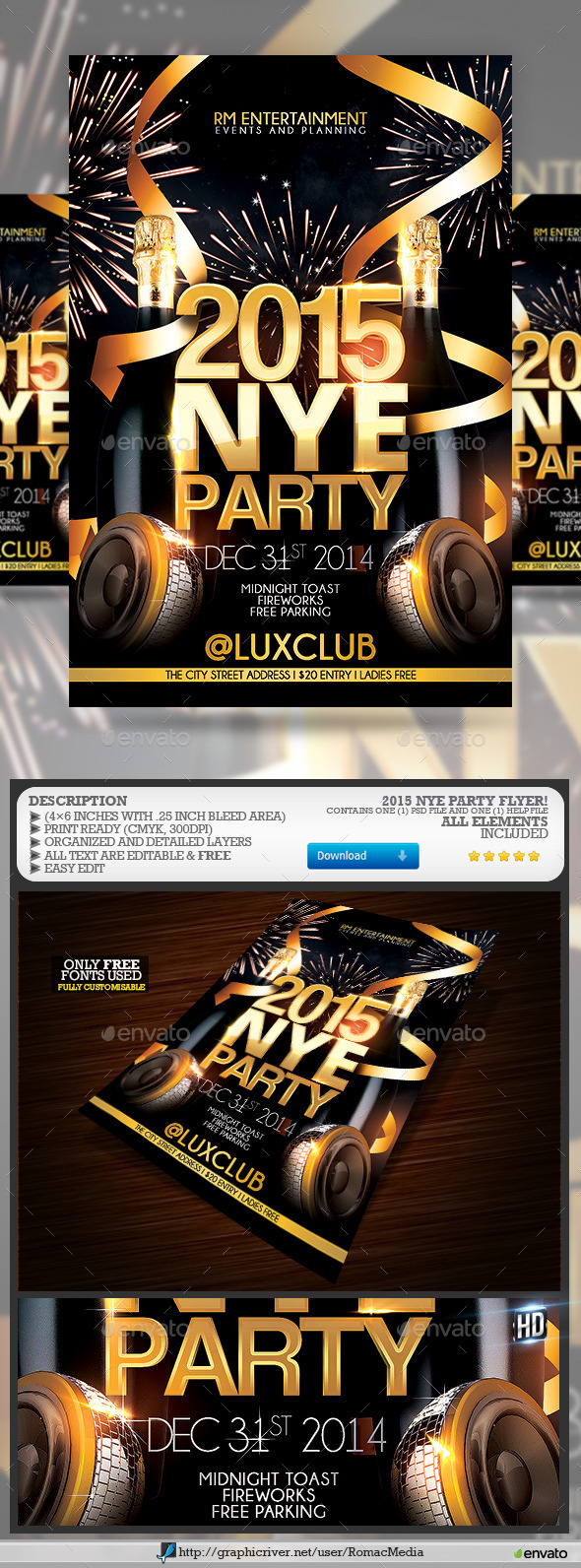 NYE Party - Clubs & Parties Events