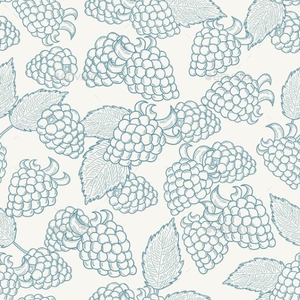 Blackberry Pattern - Patterns Decorative