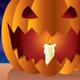 Night Halloween pumpkin - GraphicRiver Item for Sale