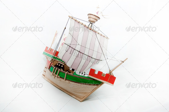 Ship model - Stock Photo - Images