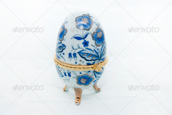 Souvenir egg - Stock Photo - Images