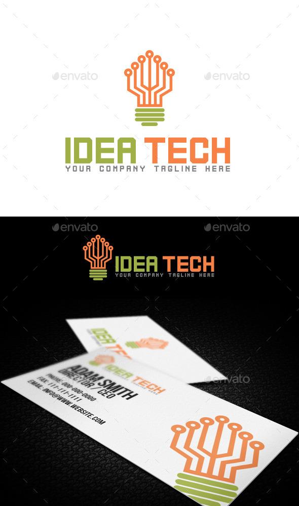 Idea Tech Logo - Objects Logo Templates