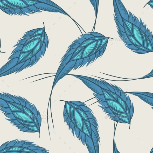 Feathers Pattern - Backgrounds Decorative