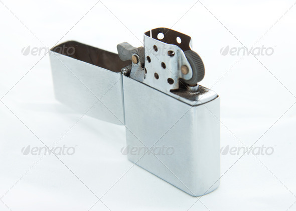 Metal lighter - Stock Photo - Images