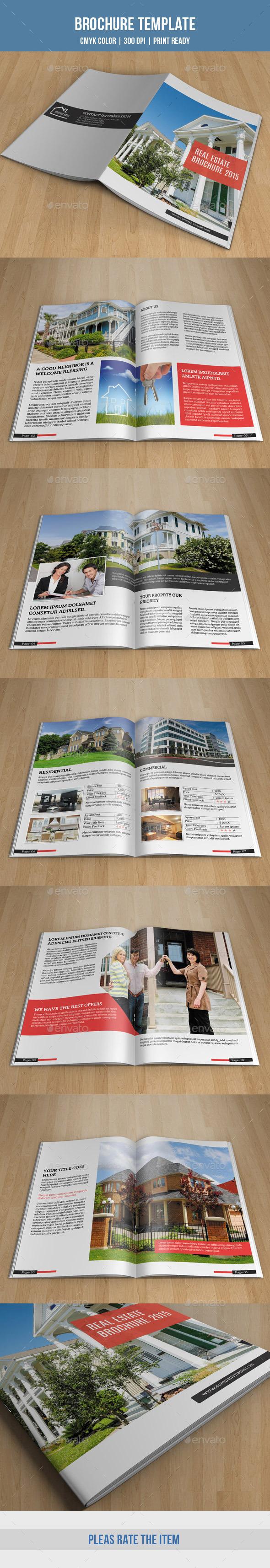 Real Estate Bifold Brochure-V164 - Corporate Brochures