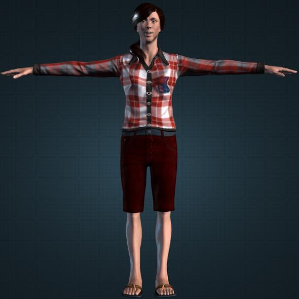 Realistic PetrukPunokawan - 3DOcean Item for Sale