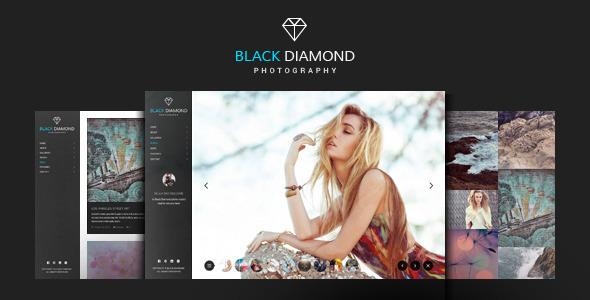 DIAMOND - Photography Website Template