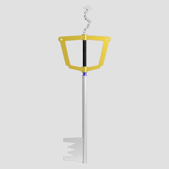 sora key blade - 3DOcean Item for Sale