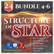 24 Structure of Stars Bundle (Vol.4-6) - GraphicRiver Item for Sale