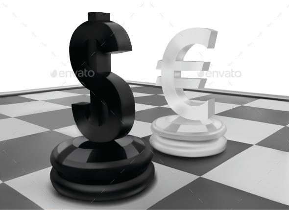 Dollar Sign - Conceptual Vectors