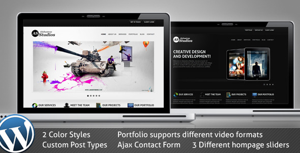 Alabastros WordPress Theme