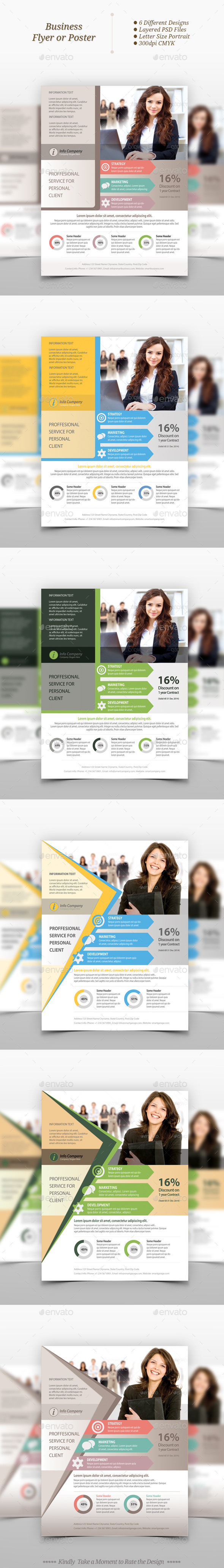 Multipurpose Business Flyer Templates - Corporate Flyers