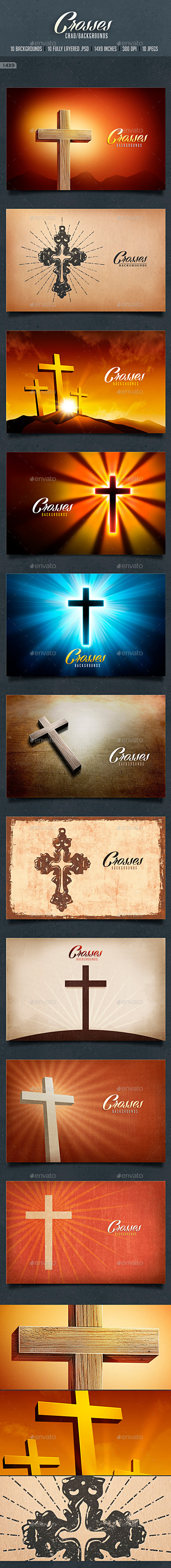 Crosses Card/backgrounds - Backgrounds Graphics