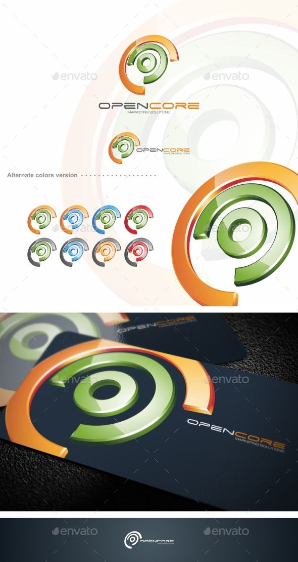 Open Core - Logo Template - Abstract Logo Templates