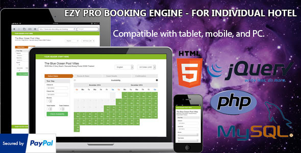 Ezy Pro - Hotel Booking Engine - CodeCanyon Item for Sale