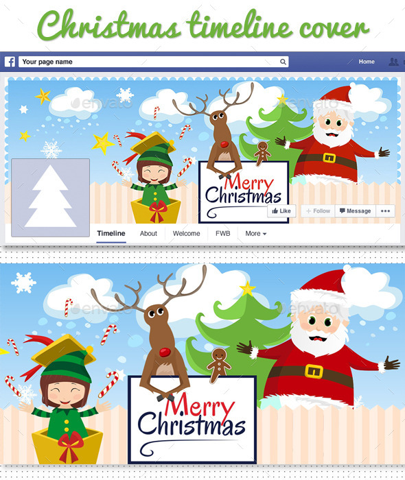 Facebook Christmas Timeline Cover - Facebook Timeline Covers Social Media