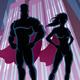 Superhero Couple - GraphicRiver Item for Sale